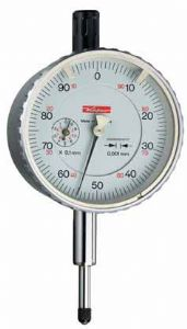 KAFER Dial Gauge Feinika FM 1101 - Shockproof - Reading: 0.001 mm